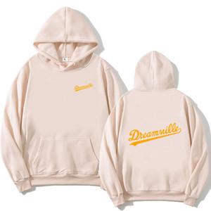 Nouveau 2020 Hommes Hip Hop Sweatshirts Dreamville J Cole Logo Prey J Cole à capuchon d'hiver en molleton à capuchon Sweat Dos