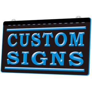LS002-B الألوان لتخويز علامات مخصصة علامات النيون علامات LED (تصميم الضوء الخاص بك مع نص الشعار الخاص بك)