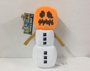 Minecraft Plüsch Spielzeug 18-20cm Schnee Golem Mine Steve Zombie Wolf Ocelot Kaninchen Huhn-Plüsch-Spielzeug für Kinder Kinder Designer Desig