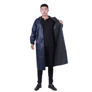 pano XQEwH Oxford reflexiva tira chuva grande chapéu de aba vento Reflective coat Oxford blusão longo de uma peça labo casaco poncho adulto