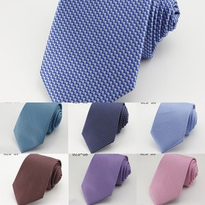Men's Business fashion tie silk tie arrow multi-color type twill polka dot diamond polyester Diamond optional zOdWX