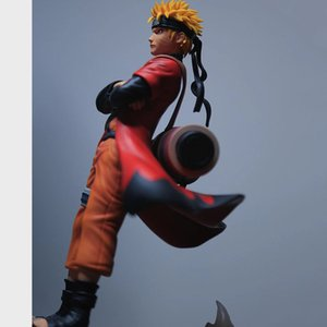 Uzumaki Naruto Sage Action Anime Figures PVC Toys Shippuden Collector Figurine Uchiha Sasuke Brinquedos Model Doll Figma MX200811