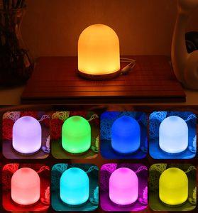 New creative RGB remote control small night USB charging night light baby fun light RGB colorful atmosphere light