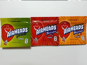 Airsheads Borsa Xtremes Cannaburst Rainbow Vuoto Bandi Mylar Confezione da 400 mg PACCHETTO Zipper Pacchetto Infuso Confezione BAG BAG BAG BAG BACK PACCHETTO SPACCIO