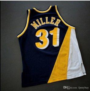 las mujeres de Hombres jóvenes Vintage Reggie Miller Jersey de la universidad de baloncesto Campeón de la vendimia del tamaño S-4XL o costumbres, cualquier nombre o el número del jersey