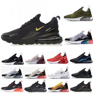 Nike Air Max 270 Airmax 270 zapatillas deportivas triples Chaussures mujeres blancas negras hombres Bred ser verdad CASE-270S ROSE hombre entrenadores zapatillas de deporte