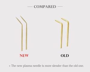 10 Pcs 2th Professional Korea Plamere Pen Copper Brending Needle Fibroblast Plasma Pen Needles Plamere Needles Plaxage Plasma Needle