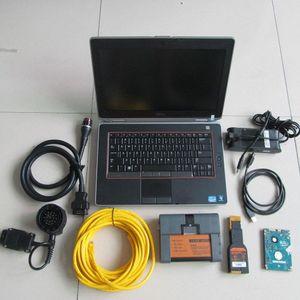para BMW diagnóstico para bmw icom a2 b c + laptop E6420 i5 4g hdd 500gb janelas modo expert sistema 45vX #