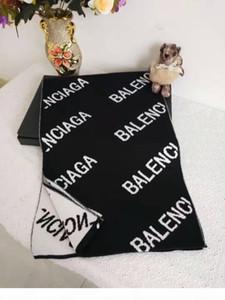 designers de la marque de mode écharpe haute automne hiver qualité des hommes et des femmes écharpe 100% laine tricotée de la marque d'affaires de loisirs 180 * 30cm