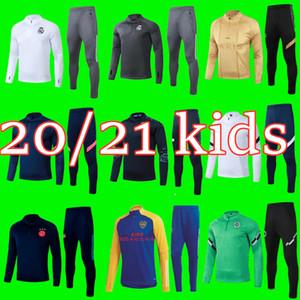bambini 20 21 Boca formazione calcio calcio tuta tuta tuta 2020 2021 Real Madrid Ajax Survêtement de foot CHANDAL calcio