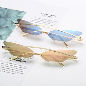VMAE 2020 High quality New Design Custom Logo Personality del Shape Small Frame Logo Printing colorful Men Women Sunglasses