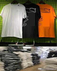20ss Sommer T-Shirt für Männer und Frauen Mode Off schwarz Whiter lässigen Designer-Tops Unisex Kurzarm T-Shirt Gute Qualität männlich Clothings