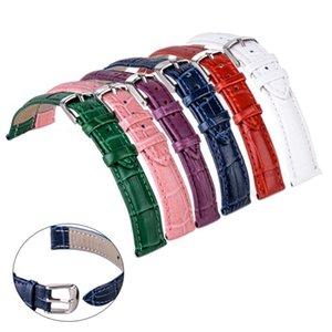 Кожа Croco Подлинная ремешок Shellhard Часы наручные 6colors 22мм Смотреть Band 12 Grain Аллигатор UKqzz garden2008
