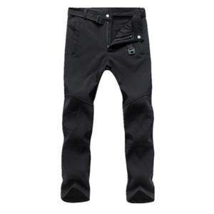 Nouveau Hommes Pantalons imperméables Hiver Printemps molletonnée Fitness Pantalon Taille Plus d'extérieur Pantalon coupe-vent tactique Homme Vêtements