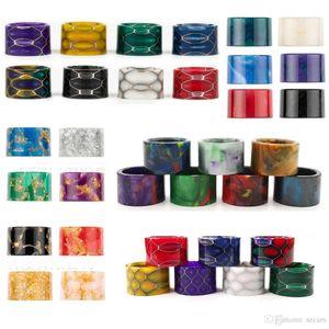 HOT HoneyComb Resin Drip Tips 5 Styles Cobra Mundstück Drippers für TFV16 Behälter TFV8 Baby-V2 Atomizer-Stock-V9 Max Kit DHL