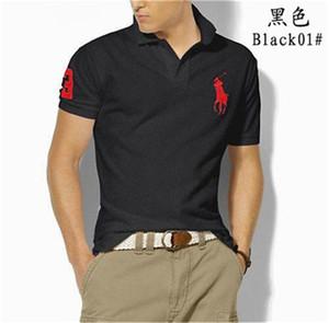 RALPH LAUREN Luxe Italie Hommes T-shirt Designer Polos High Street broderie crocodile petit cheval impression Vêtements pour hommes