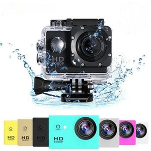 High-definition 1080p Waterproof Camera 2.0 Inch Camcorder Sports Dv Go Car Cam Pro Helmet Sports Camera Fast Delivery