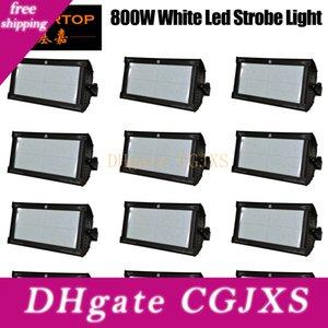 İndirim Fiyatı 12 Birimler 800w Beyaz Renk DMX Led Strobe Işık Martin Strobe Flaş Işığı Stroboscope Sahne Efekti Işık