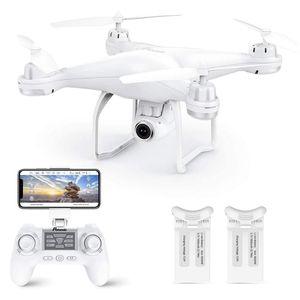Potensic GPS T25 RC Drone 1080P Wifi FPV HD Camera Altitudine premuto uno tasto invio / atterraggio / decollo senza testa RC Quadcopter Dron