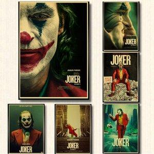 Ana Bar Odası Dekor için Vintage Poster Yeni Film Joker Retro Poster kraft kağıdı Baskılı Duvar Posterler