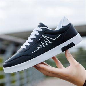 2020 hot Breathable fashion white men's sneakers Fashionable breathable student sneakers teens flat Casual shoe Men's sneakers 36-44