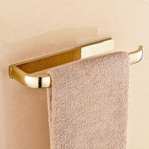 Praça Sólidos Bath Hardware Hardware Montado Polido Sets Sets de ouro Acessórios de Banho Bathroom Wall Define Latão mRQPf yh_pack