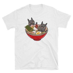 Écossais Terrier japonais Ramen Kawaii shirt drôle écossais Terrier T-shirt Scottie T-shirt pour chien