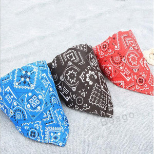 Lovely Adjustable Pet Dog Collar Puppy Cat Triangle Scarf Collars Printed Dogs Bandana Neckerchief Pet Accessories Supplies Dbc Bh2852
