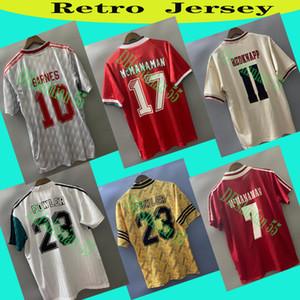 Dalglish Retro Futbol Jersey Gerrard 2005 Smicer Alonso Şampiyonu 10 11 Futbol Gömlek Torres 82 89 91 Maillot 85 86 KUYT Keane 08 09 Suarez