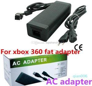 AC adaptador de juegos para xbox 360 adaptador de grasa / grasa para el cargador / fuente de alimentación de CA xbox 360 precio de fábrica