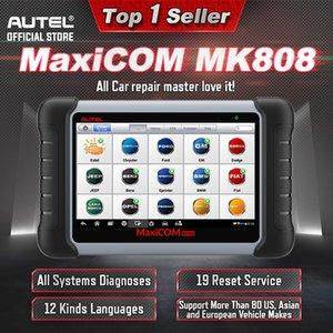 Best Autel MaxiCOM MK808 OBD2 Scanner Automotivo Car Diagnostic Tool OBD 2 EScaner TPMS Code Reader OBDII Key Coding AP200 MP808