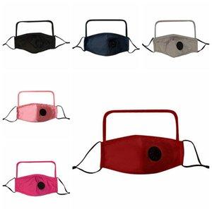 2 в 1 Valve Face Mask With Transparent Eye Shield пыле моющийся анфас Защитные Face Shield Дизайнерские Маски RRA3409