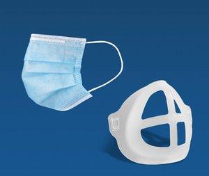 Ağız Maskesi Tutucu Ağız Burun Desteği Yüz Kapak Artefakt Braketi Standı İç Kolay Solunum Uzay Ağız Kapak Tutucu Kullanımlık HWC978