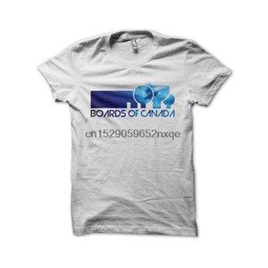 Мужчины T Shirt Boards Of Canada T-Shirt White Fan Art Tshirts Women T-Shirt