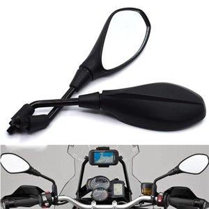 Универсальный 10мм Мотоцикл зеркало заднего вида LeftRight Зеркала заднего вида для HONDA CB1000R CB1000RR CB1100 CB1300 CBF1000 CBF600 / S
