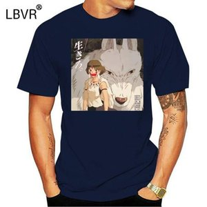 Anime Princess Mononoke T Shirt Men O Neck Cotton Short Sleeve T Shirt New Style 3D Printer Plus
