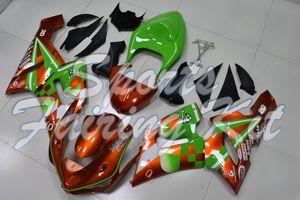 Мотоцикл обтекателя для 636 ZX6R 2005 - 2006 Fairing Kits 636 ZX6R 2006 Пластиковые обтекатели ZX6R 636 2005