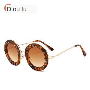 Little Bee carta calle sol ventilador de gafas de sol de moda ronda Masu de hombres y mujeres de las gafas de sol 1828