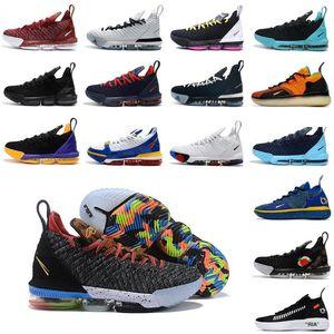 2020 novo James 16s tênis de basquetelebron 16 Homens Tribunal exterior formadores sneakers chaussures esportes sapatos tamanho 40-46 QPvy #