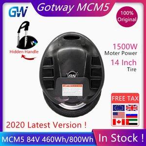 Оригинал Gotway MCM5 Моноцикл Electric Scooter Само 84V 460wh 800wh Батарея 1500W Мотор Один колеса Электрический самокат
