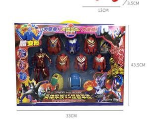 2018 New arrival Funny Altman eggs toy Deformation egg Ultraman robot Monster egg suit Children's educational toys