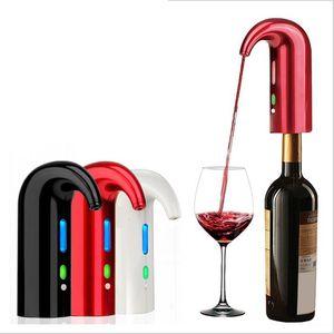 كهربائي النبيذ المدفق سدادة مهوية موزع مضخة USB قابلة للشحن إكسسوارات الدورق المدفق النبيذ لبار استخدام المنزلي تهوية النبيذ