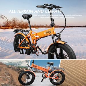 Livraison rapide vélo électrique 48V 500W pliant vélo électrique Fat Tire e Vélo VTT hors route à haute vitesse électrique Scooter W41215024