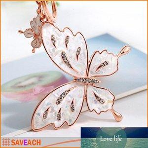 Butterfly Lovers keychain borse fibbia donne anello portachiavi chiave del sacchetto, 2 stile, trasporto libero