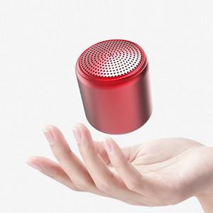 colores Bluetooth TWS Macaron Color del metal bluetooth mini altavoz inalámbrico portátil Soundbox TWS verdadera altavoz al aire libre