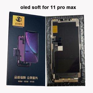 شاشة OLED للحصول على 11 الموالية ماكس الناعمة كاملة إصلاح الجمعية OLED شاشة تعمل باللمس عرض استبدال محول الأرقام OEM الأصل