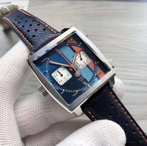 2020 Nouvelle 10 couleurs Monaco tag heuer calibre 24 39 montre carrés conception quartz sports TCA populaires hommes étiquette regarder montre-bracelet