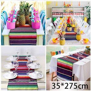 Multifunction Table Flag Ethnic Wind Blanket Beach Towel Mexican Style Portable Picnic Handmade Striped Blanket Tassel Travel