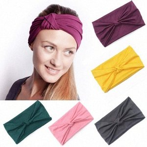 Sports Yoga Hair Band Wide Headband Velvet Knot Headband Noble Scrunchie Twist Yoga Hairband Turban Headband Bandage EEA1076 q80H#