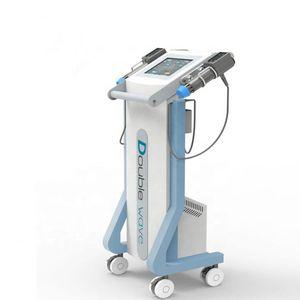 Newe doppi manici muscolare shockwave sollievo dal dolore Ed ridurre onda d'urto terapia della disfunzione erettile peso trattamento shockwave macchina di terapia